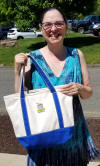 Eileen with Tote